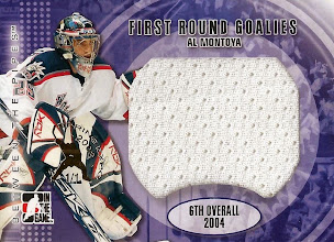 Photo: Al Montoya 2007-08 Between The Pipes First Round Goalies Jerseys Toronto Expo jersey (1/1)