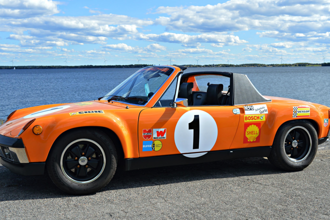 1973 Porsche 914 GT Tribute car Hire NY