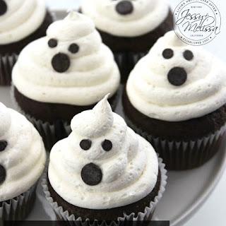 Marshmallow Ghost Cupcakes Recipe