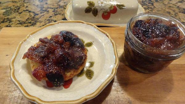 Black Fig Skillet Jam --bonnie's Recipe