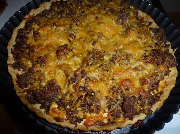 Cheeseburger Tart Recipe