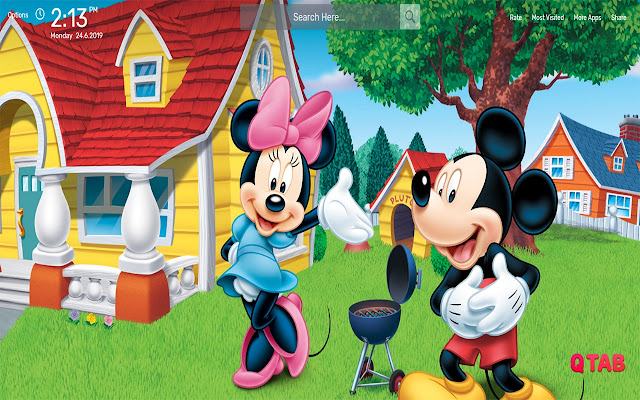 Mickey Mouse Wallpapers HD Theme