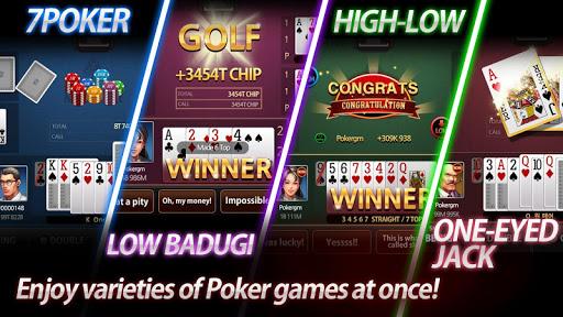 Poker Master - 7poker, High-Low, One Eyed Jack 1.8.5 screenshots 1