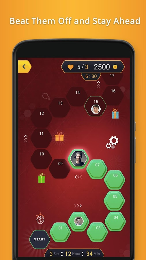 Hexa Trivia Game- screenshot