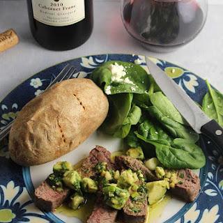 how to cook chopped sirloin steak