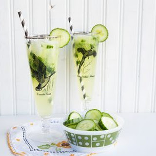 Cucumber Mint Gin Fizz Recipe
