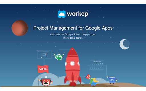 Workep - Project Management for G Suite