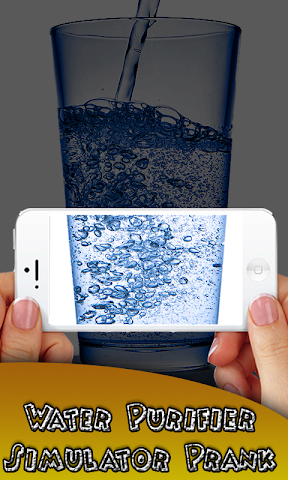 android Water purifier test Prank Screenshot 0