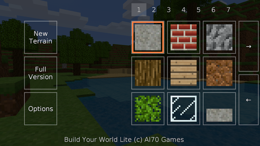 android Build Your World Lite Screenshot 2