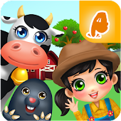 Farm Animals & Vegetables Fun Game for Kids