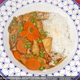 Chop Suey mit Geflügel