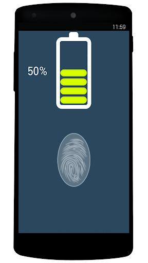 無料模拟Appの偽の指の充電器|記事Game