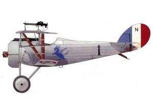 Nieuport 24 N99 SPA99 1917 WW1