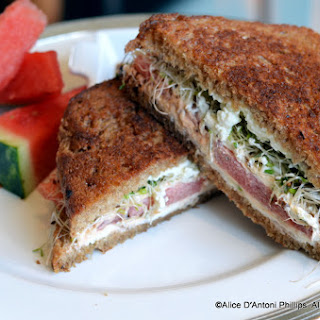 The Mountain Hippie Grilled Cheese.