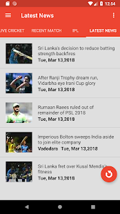 CrickBuzz 2018 : Cricket News and Lives for PC-Windows 7,8,10 and Mac apk screenshot 3