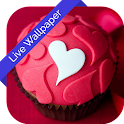 3D Cute Hearts Cube LWP icon