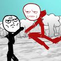 Stickman Meme Fight icon