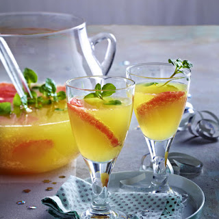 Sparkling Grapefruit Punch.