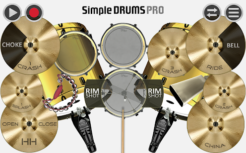 Simple Drums Pro - Drum Set- screenshot thumbnail