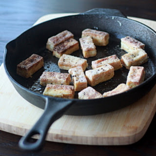 Crispy Salt & Pepper Tofu.