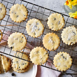 Mary Berry's Easter biscuits.