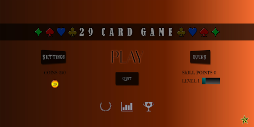 29 Card Game Lite 1.3.5 screenshots 1