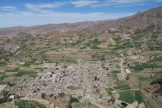 Photo: Pueblo de Huanca desde Soncoquilla Huanca / 18 y 19 de Noviembre (2012) Caylloma