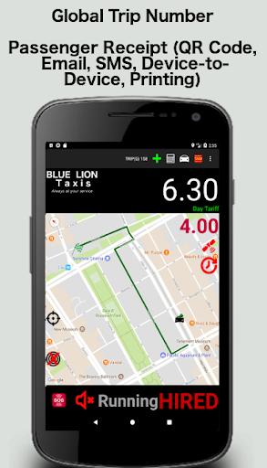 Taximeter-GPS 4.9.4.1 screenshots 2