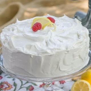 Lemon Layer Cake.