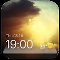 時計と天気予報ウィジェット 日本気象情報tennki icon