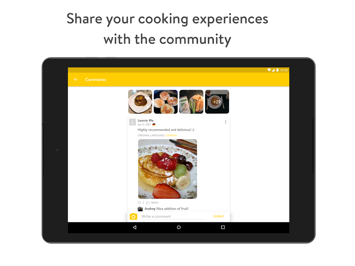 Kitchen Stories - recipes, baking, healthy cooking- screenshot