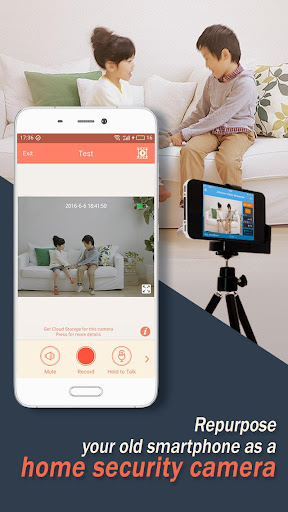 AtHome Camera - phone as remote monitor screenshots 1
