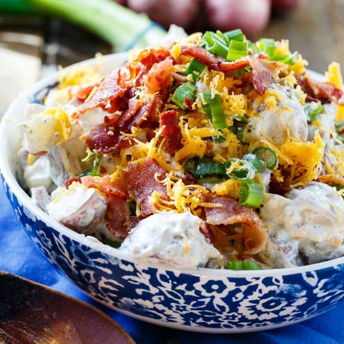 Loaded Ranch Potato Salad Recipe