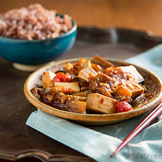 Eggplant and Tofu in Spicy Garlic Sauce Recipe