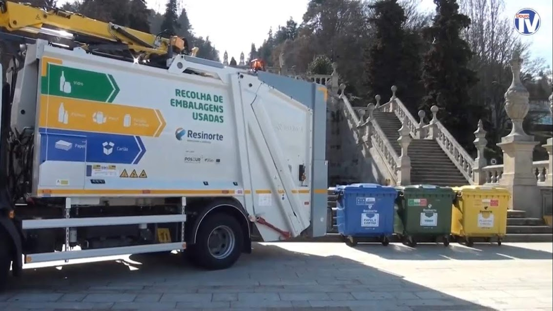 Vídeo - Lamego vai dispor de mais 150 eco-ilhas para reciclagem