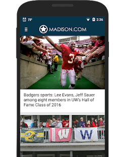 Madison.com- screenshot thumbnail