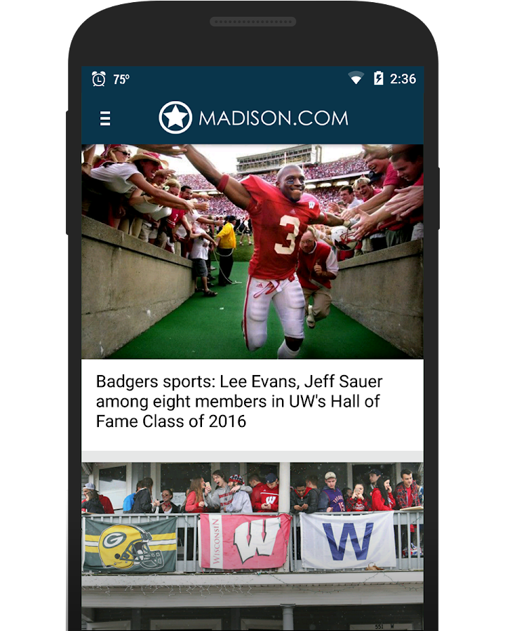 Madison.com- screenshot