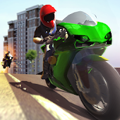 Crime Police Bike Chase Simulator