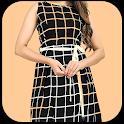Fashion Dress With Women Photo Montage New icon