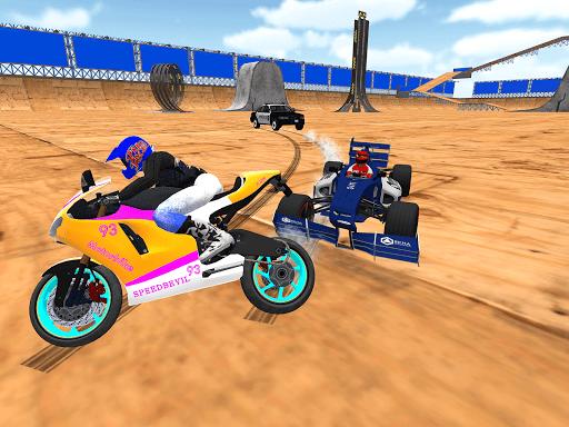 motorcycle infinity driving simulation extreme  screenshots 2