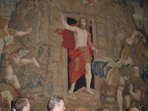 Photo: Christ's Resurrection Tapestry