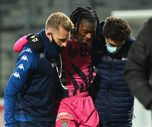 Le Sporting de Charleroi croise les doigts pour Joris Kayembe