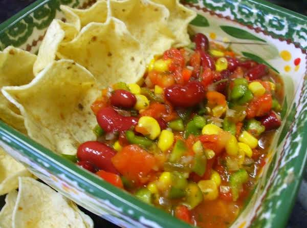 Red Kidney Bean & Corn Salsa