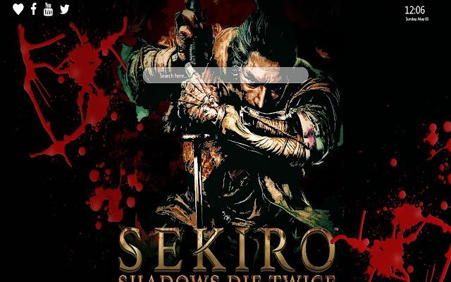 Sekiro Shadows Die Twice Wallpaper New Tab