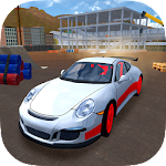Racing Car Driving Simulator Icon
