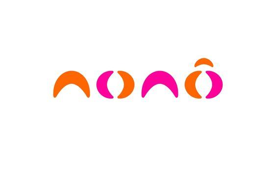 Tipografia geométrica representada por logotipo