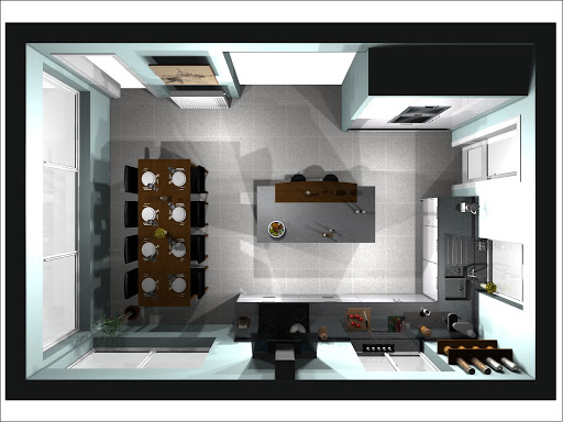 The Games Room Is Through The Larger Opening At The Top, The Lounge Through  The Top Left Door.