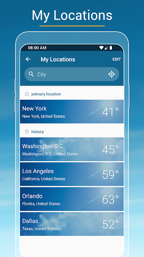 Weather & Radar USA screenshot 4