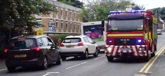 Firefighters blocked in station by ignorant drivers