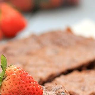 Strawberry-cream Cheese Brownies